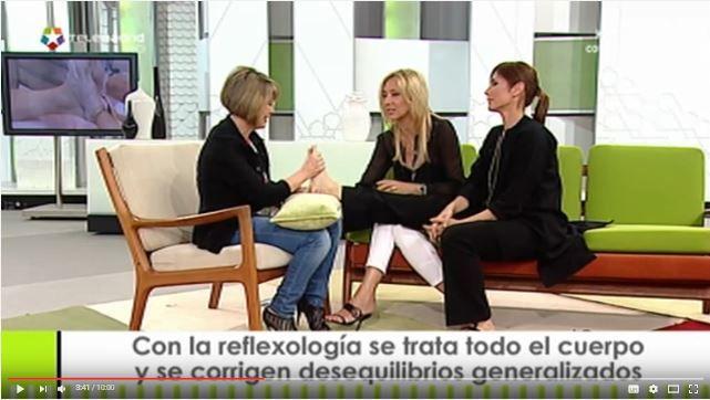 Hablamos de Reflexología Podal en Ahora Marta